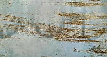 Scratched rust on steel plate. photo