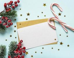 Christmas holiday greeting card photo