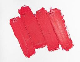 Lipstick swatch for make up photo
