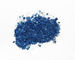 Blue eyeshadows crushed palette photo