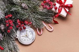 Christmas holiday background photo