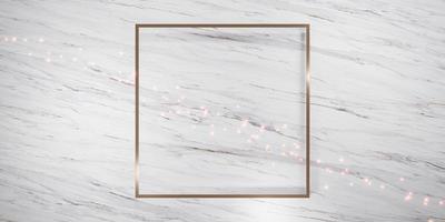 Fondo de marco de lujo brillante para pegar texto y contenido. foto