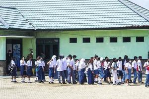 sorong, papua occidental, indonesia, 4 de octubre de 2021. visita de estado del presidente de indonesia, joko widodo. foto
