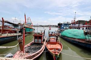 el barco de pesca foto