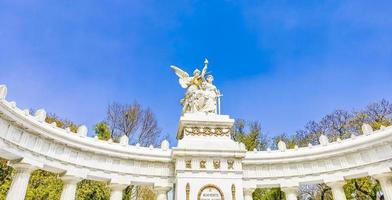 Hemiciclo a Benito Juarez archway architectural masterpiece in Mexico City. photo
