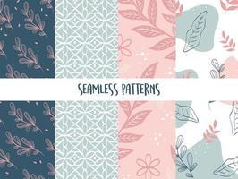 seamless pattern textured natural vector