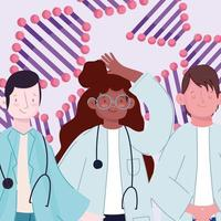 physicians staff dna vector