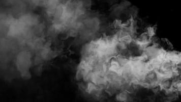 smoke cloud loop effect video