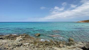 plage et mer bleue video