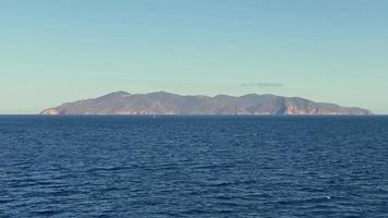 île dans la mer video