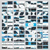 Business Card Design Template Set vector