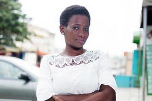 portrait of young confident woman photo