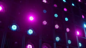 Flicker wall lights video