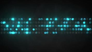 Blue light show panel abstract background video