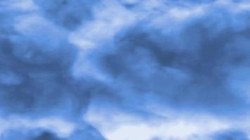 blue smoke effect animation video