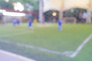 campo de fútbol borroso abstracto foto