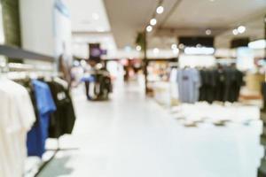 Desenfoque abstracto centro comercial de lujo y tienda minorista para el fondo foto