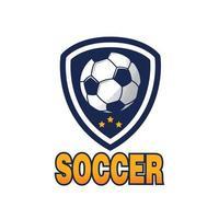 Soccer logo, America logo, Classic logo vector