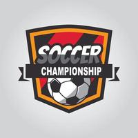 Soccer logo, American logo, Classic logo vector