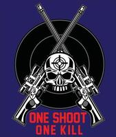 One shoot one kill vector