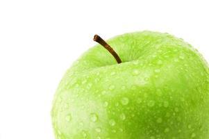 Green apple detail photo