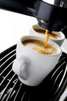 black Espresso coffee photo