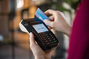 Credit card payment photo