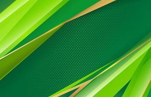abstract geomeri grreen background vector
