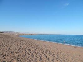 Nature beaches of the resort in Egypt Sharm El Sheikh photo