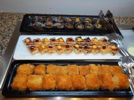 Food Turkish cuisine in a restaurant photo