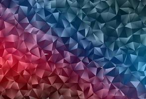 Dark Blue, Red vector blurry triangle texture.