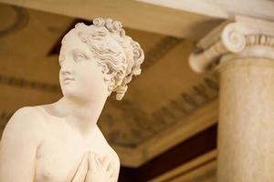 Venus Statue detail in Palazzo Ducale museum photo