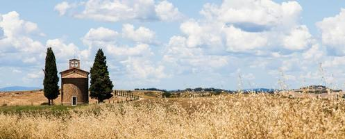 Tuscan country in italy photo