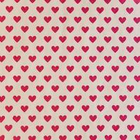 seamless pattern with red hearts photo