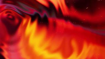 Fondo abstracto de patrón de onda fluida multicolor 3d video