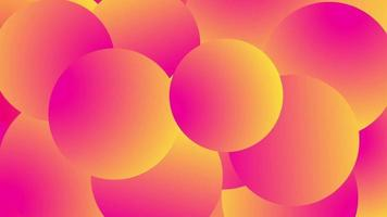 Beautiful shapes abstract background video