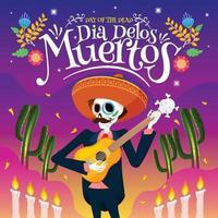 Dia de Los Muertos Celebration vector