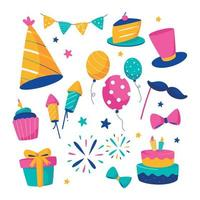 Party Elements Collection vector