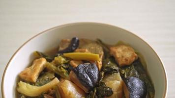 Chinese vegetable stew with tofu video