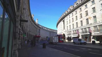 shopping area at Oxford Street in London, England, UK video