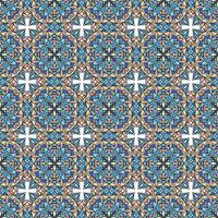 Seamless pattern. Vintage decorative elements. Hand drawn background. Islam, Arabic, Indian, ottoman motifs. Perfect for printing on fabric or paper. vector