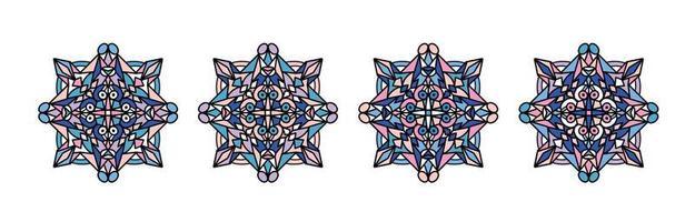 Mandala. Round Ornament Pattern. Vintage decorative elements. Hand drawn background. Islam, Arabic, Indian, ottoman motifs. vector