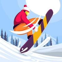 Winter Sports Olympic Concept vector
