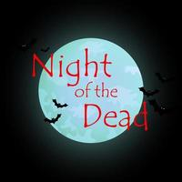 Colorful bright web banner congratulations on the holiday Halloween, night of the monsters photo