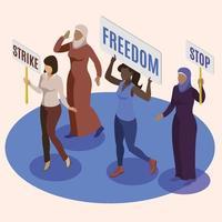 activist concept vector illustration design