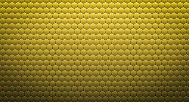 Abstract golden hexagonal background or texture. 3d rendering photo