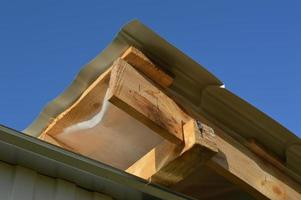 Strengthening the frame building with fasteners photo