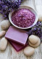 Lavender spa concept photo