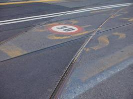 maximum speed sign photo