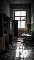 Pripyat, Ukraine, 2021 - House in Chernobyl photo
